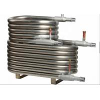 China OD 12.7mm - 50mm Coaxial Tube Heat Exchanger For Food / Beverage Factory wholesale