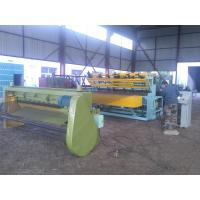 China Industrial Fence Panel Making Machine , Fully Automatic Wire Mesh Machine wholesale