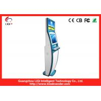 China 19 Capacitive Dual Screen Kiosk , Outdoor Stand Bill Payment Kiosk wholesale