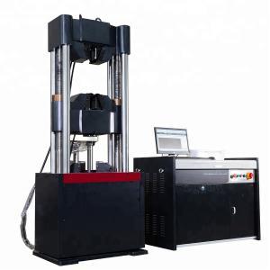 China 600KN Servo Hydraulic Universal Testing Machine Hydraulic Tensile Tester For Bolts on sale
