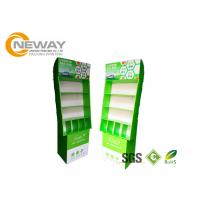 China Free Standing POS Cardboard Advertising Displays With Pegs For Small Items wholesale