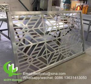 China Window screen Aluminium Garden Screens , Laser Cut Aluminium Screens wholesale