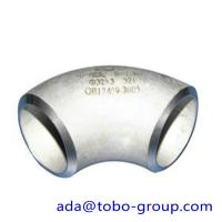 China ASTM A403 WP321 / H Butt Weld Fittings Long Radius 90 Degree Elbow wholesale