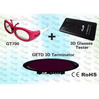 China OEM Video 3D IR emitter and glasses for Cybercafé  wholesale