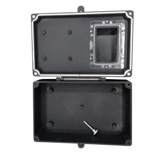 China Hinged Wall Mount Watertight Aluminum Box IP65 With Window wholesale