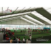 Buy cheap Large Aluminium PVC Indoor Sport Event Tents Curved Shape Structure from wholesalers