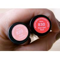 China Coated Paper Cosmetic Sticker Labels Anti Tear Off For Lipstick Tube wholesale