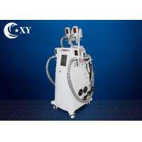 Buy cheap Non - Invasive 4 Handle Cryolipolysis Slimming Machine with RF Cavitation from wholesalers