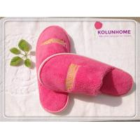 Luxury quality disposable cotton hotel slipper eva lady slipper