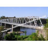 Buy cheap High Performance Temporary Galvanized Surface Steel Bailey Bridge with Heavy from wholesalers