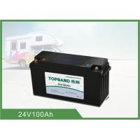 China Deep Cycle Lifepo4 Rv Camper Battery Pack Rechargeable Long Cycle Life wholesale