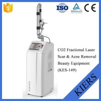 China Fractional CO2 Dermatology Laser Machines Stationary Style With Wrinkle Removal wholesale