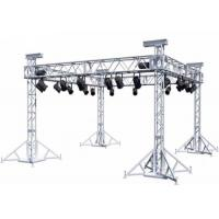 Buy cheap Aluminum Stage Box Truss Screw / Bolt Connection Way Silvery Color from wholesalers