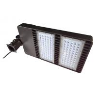 China Waterproof Led Shoebox Light 160 W 20800 Lumen Meanwell Led Driver wholesale