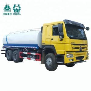 Hydraulic Single Axle Water Tank Truck Internal Anti - Corrosion Treatment