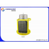 Buy cheap IP68 AH-LS/C-5 Aircraft Warning Light 5 Color LED Solar Powered Marine Lanterns from wholesalers