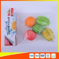 PE Clear Freezer Zip Lock Bags , Double Resealable Freezer Bags For Food