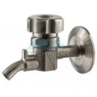 China Sanitary Stainless Steel Sample Valve Tri Clamp Style Saniatry Pipe Fitting Sample Valve wholesale