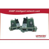 China Remote Monitoring UPS Accessories , SNMP / AS400 Card For UPS wholesale