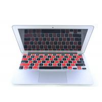 China Black Red Silicone Laptop Keyboard Protective Film For iPad Air / iPad 5 on sale