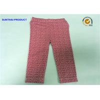 China Floral Print Cute Baby Girl Leggings In Cotton Spandex Sample Available wholesale