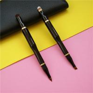 China 4 Brush Head Concealer Makeup  Brush Plastic Handle Material OEM Acceptable wholesale