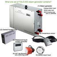 Buy cheap Turkish Commercial Steam Generator With Waterproof touch screen controller from wholesalers