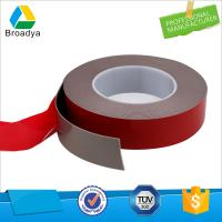 China 1mm waterproof double sided adhesive black foam color VHB tape company wholesale