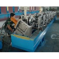 China Steel / Aluminum / Copper Mobile Seamless Gutter Machine For Rainwater Gutter Profiles wholesale