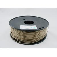 Quality Rapid Prototyping 3mm Wood 3D Printer Filament Dark Brown For Reprap 3D Printer for sale