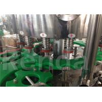 China 3.8KW Automatic Bottle Filling Machine , Pet Bottle Water Bottling Equipment wholesale