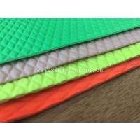 China Lycra Embossed High Elastic Neoprene Fabrics Printed Wetsuit Fabric For Laptop Sleeve on sale