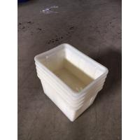 China 140Liter Stackable & Nestable Solid plastic crates plastic boxes wholesale
