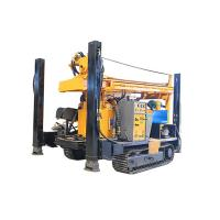China FY200 200m CRAWLER HYDRACULIC WATER WELL DRILLING RIG  machine portable water well drilling rigs deep drill rig truck on sale