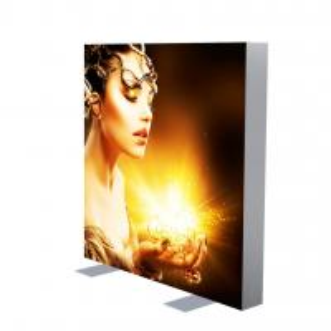 Quality Advertising LED Light Box Backlit Frameless Led Fabric Light Reinforced Struction for sale