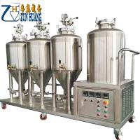 China SUS304 100l 50gallon micro beer brewery equipment conical fermenter tank stainless steel beer brewing equipment on sale