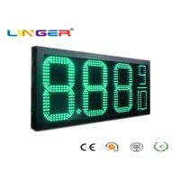 China Factory Directly Sale Led Gas Price Sign in Green Color with 12inch Digits for Double Sides wholesale