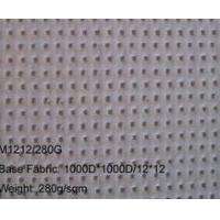 China White color PVC mesh - Alkali-resistant PVC mesh banner wholesale