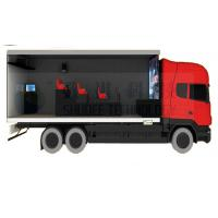 China Mobile Truck 5D Cinema System with Waterproof Cabin and Motion Cinema Seat wholesale