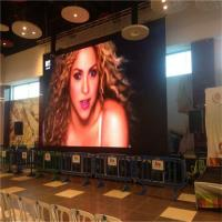 Buy cheap Hot sale HD small pixel pitch slim die-cast indoor advertising display led screen from wholesalers