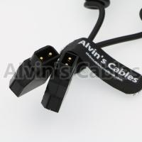 China D - Tap Male To D - Tap Male Coiled Extension Cable For DSLR Rig Anton Bauer Battery on sale