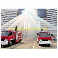 China Hydraulic steering Fire Fighting Trucks 4x2 10000 L water tanker fire truck wholesale
