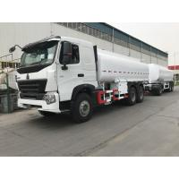 China 371 Horse Power Liquid Tank Truck , 10 Wheels Steel Structure Oil Delivery Truck wholesale
