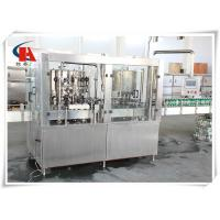 China Small Tin Carbonated Beverage Filling Machine 4.5KW Power High Accuracy on sale