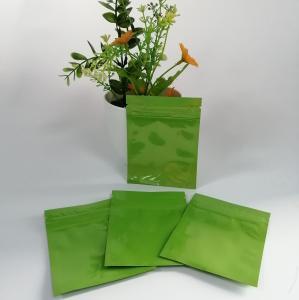 China Plastic Small Sachet Custom Ziplock Bags Aluminum Foil Inside Moisture Proof wholesale