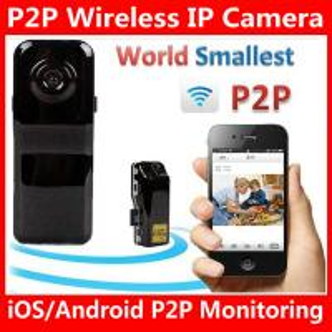 China MD81S WiFi Camera iOS/Android Wireless IP P2P Surveillance Camera Spy Hidden TF DVR MD99S wholesale