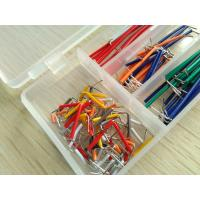 China Solid Solderless Breadboard Kit  14 different lengths 140Pcs Jumper Cable Kits With Box wholesale