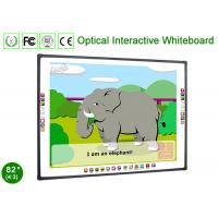 China 4 Touch Optical Interactive Whiteboards Markers Pens Games School Teaching Equipment wholesale