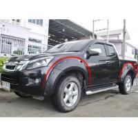 China Modified Wheel Arch Flares For ISUZU D-MAX 2012 - 2015 , 2017 Fender Flares wholesale