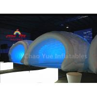 Buy cheap LED Inflatable Dome Tent for exibition from wholesalers